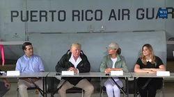 L'ahurissant discours de Trump à Porto Rico, dévasté par l'ouragan