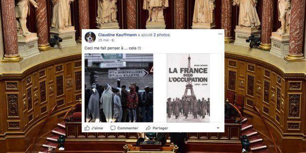 Claudine Kauffmann, la nouvelle sénatrice FN comparait les migrants à l'Occupation