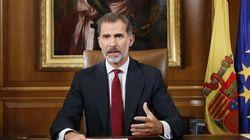 Le roi d'Espagne accuse les dirigeants catalans de s'être mis