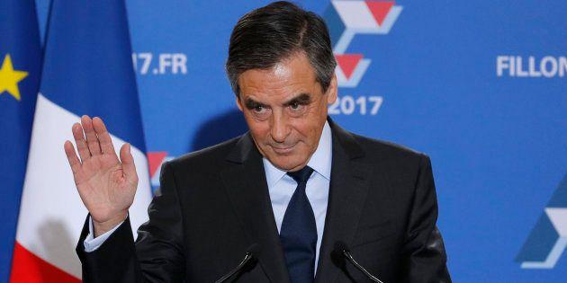 François Fillon, le 27 novembre à l'issue du second tour de la primaire de la droite et du centre. REUTERS/Philippe