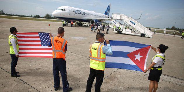 Les premiers vols commerciaux réguliers entre les Etats-Unis et La Havane doivent décoller ce lundi 28...