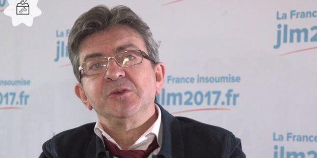 Jean-Luc Mélenchon trouve David