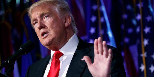 Le recomptage des voix dans le Wisconsin a fait sortir Donald Trump de ses gonds (photo