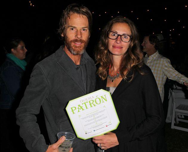 Daniel Moder et Julia Roberts à Malibu en