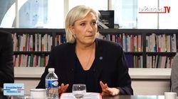 Marine Le Pen se dit