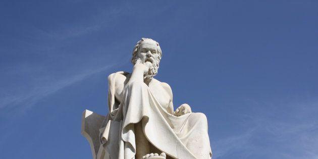 Statue de Socrates