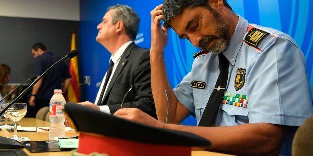 Crise en Catalogne: Le chef des Mossos, Josep Lluis Trapero, convoqué par la justice espagnole