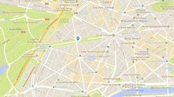 Un scooter prend feu près d'un véhicule diplomatique à Paris, une enquête