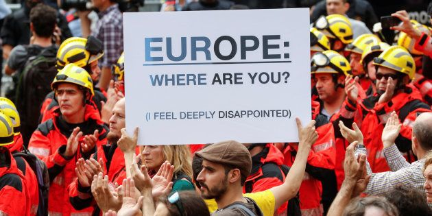 Sur la Catalogne, pourquoi l'Union européenne est restée si