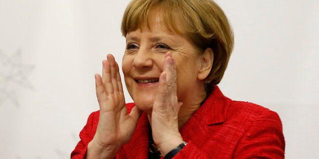 Angela Merkel requinquée par une large victoire lors d'un scrutin régional