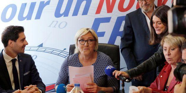 Le Front national suspend la sénatrice qui comparait les migrants aux