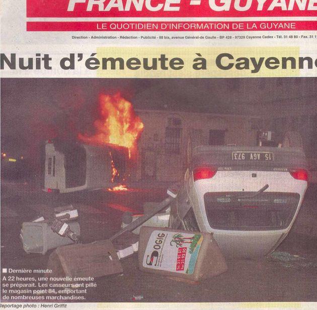 La crise en Guyane rappelle ce qu'il s'y était déjà passé en
