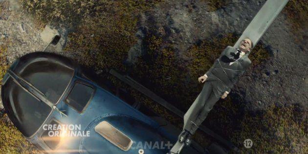 Un homme attaché à un hélico, une tête qui explose... Le premier meurtre