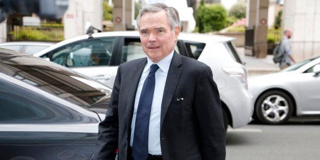 Bernard Accoyer à Paris le 9 juin
