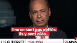 Les larmes de ce sénateur américain d'origine portoricaine après la visite de