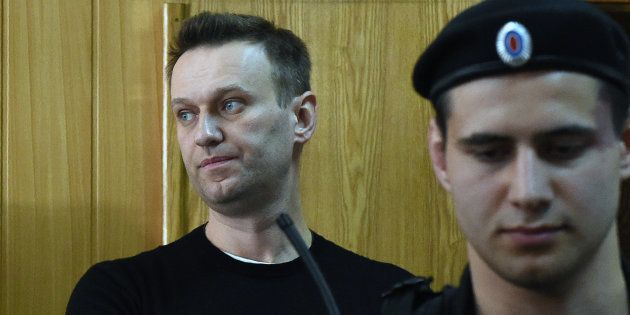 L'opposant russe Alexeï Navalny condamné à 15 jours de détention après la manifestation