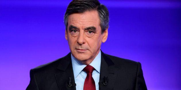 François Fillon le 24 novembre lors du débat face à Alain Juppé. REUTERS/Eric
