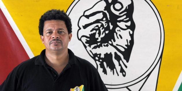 Le leader indépendantiste guadeloupéen Elie Domata apporte son soutien aux grévistes de