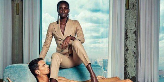 Des hommes nus comme faire-valoir de femmes puissantes, la publicité qui fait polémique