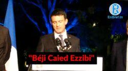 Valls écorche le nom du président tunisien et lui donne un tout autre