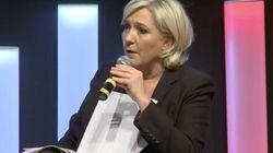 Le tacle de Marine Le Pen à Pierre Gattaz devant le
