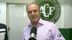 Le vice-président du club de Chapecoense craque: