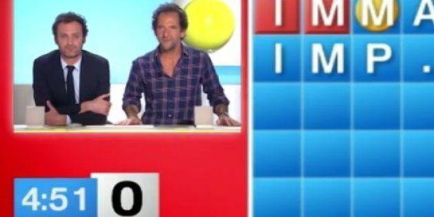 Augustin Trapenard et Stéphane de Groodt jouent