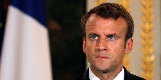 Emmanuel Macron et ceux