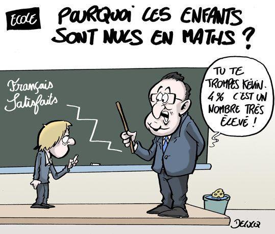 On sait pourquoi les élèves français sont nuls en