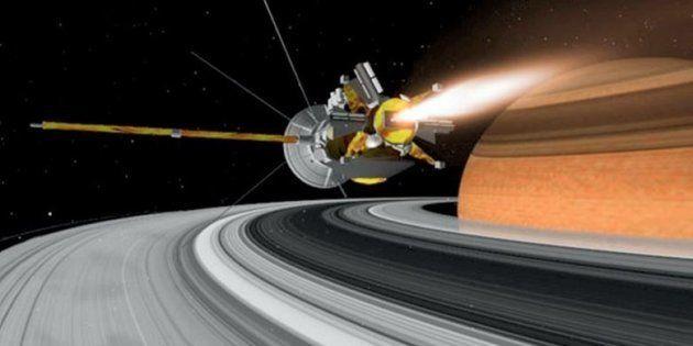 La sonde Casini de la Nasa entame son chant du cygne, qui va finir dans l'atmosphère de