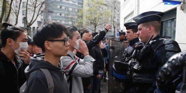 Comment les médias chinois voient la police française après la mort d'un