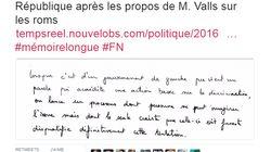Le message subliminal de Duflot pour commenter le soutien de Valls à