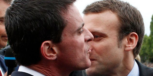 Manuel Valls et Emmanuel