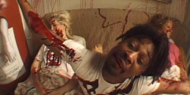 Le rappeur Danny Brown dans le clip de sa