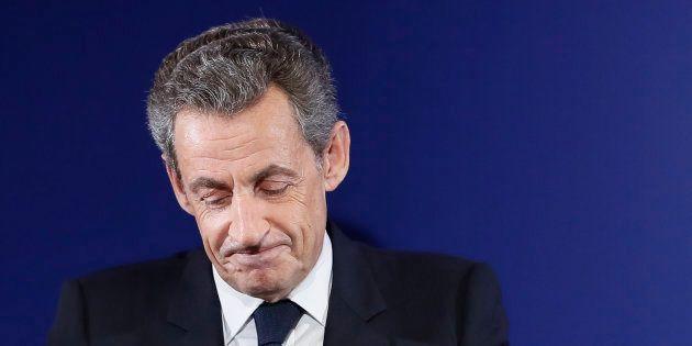 Nicolas Sarkozy à Paris le 20 novembre