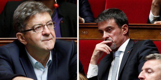 Entre Valls et Mélenchon, ce que la violence excessive des attaques dit de leur