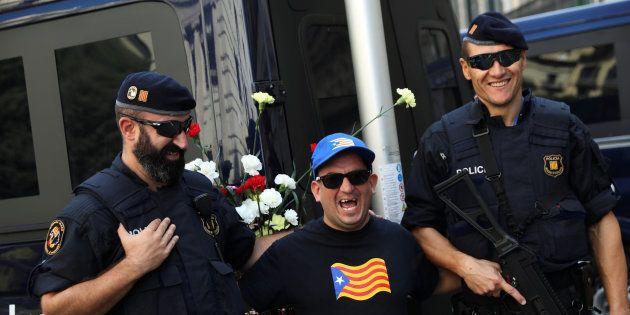 Un conte catalan avec les Mossos, la police