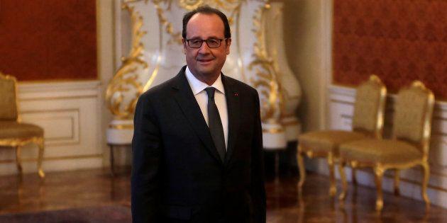Le Président François Hollande à Prague, République Tchèque, le 30 novembre