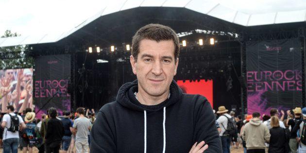 Matthieu Pigasse lors Eurockeennes à Belfort le 2 juillet