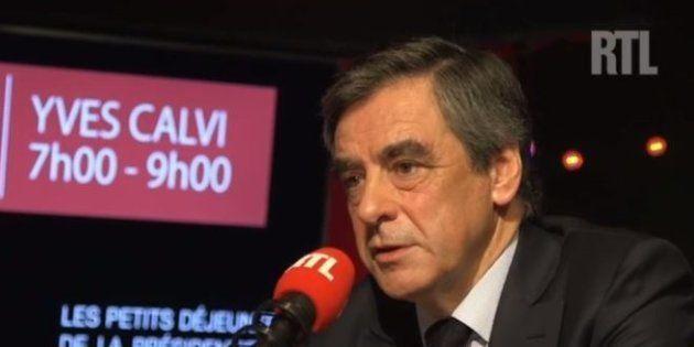 François Fillon sur RTL le 30 mars