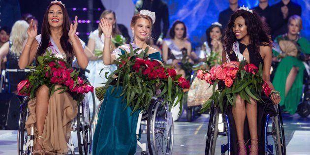 La première Miss Monde en fauteuil roulant a été élue à