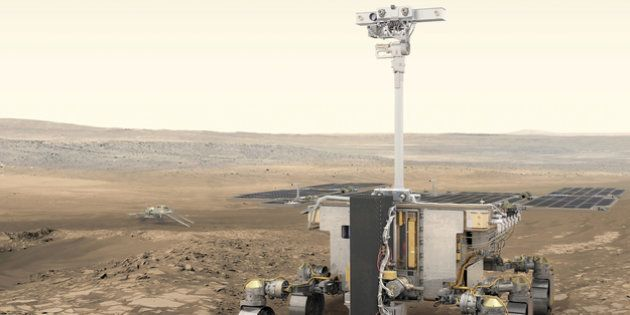 Le rover ExoMars doit se poser sur Mars en 2020 pour y chercher des traces de vie