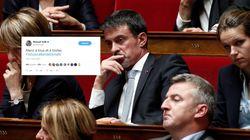 Quand Valls fait monter un (obscur) hashtag de soutien à sa personne dans sa guerre contre