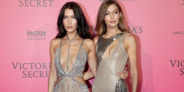 Les sœurs Hadid ont défilé ensemble pour Victoria's