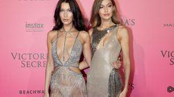 La vieille photo prémonitoire de la mère de Gigi et Bella Hadid avant le défilé Victoria's