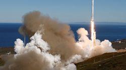 Lancement réussi pour SpaceX et sa 1re fusée