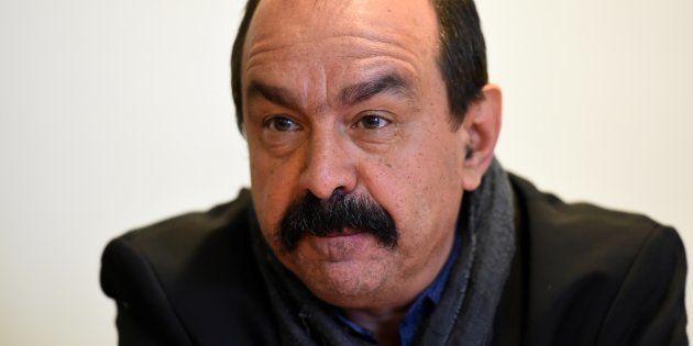 Philippe Martinez, secrétaire général de la CGT, le 29 mars à