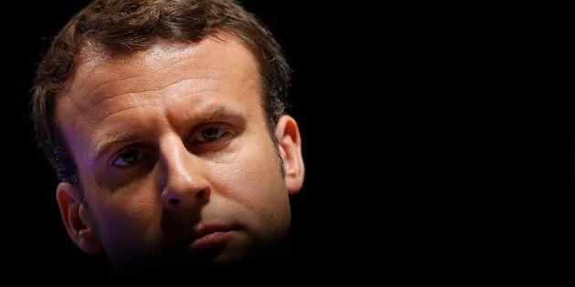 Emmanuel Macron au 71ème congrès de la FNSEA à Brest le 30 mars