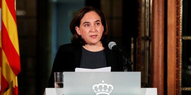 Catalogne: Ada Colau, la maire de Barcelone contre une déclaration unilatérale