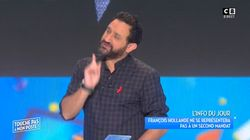 Cyril Hanouna défend François Hollande dans TPMP face à son